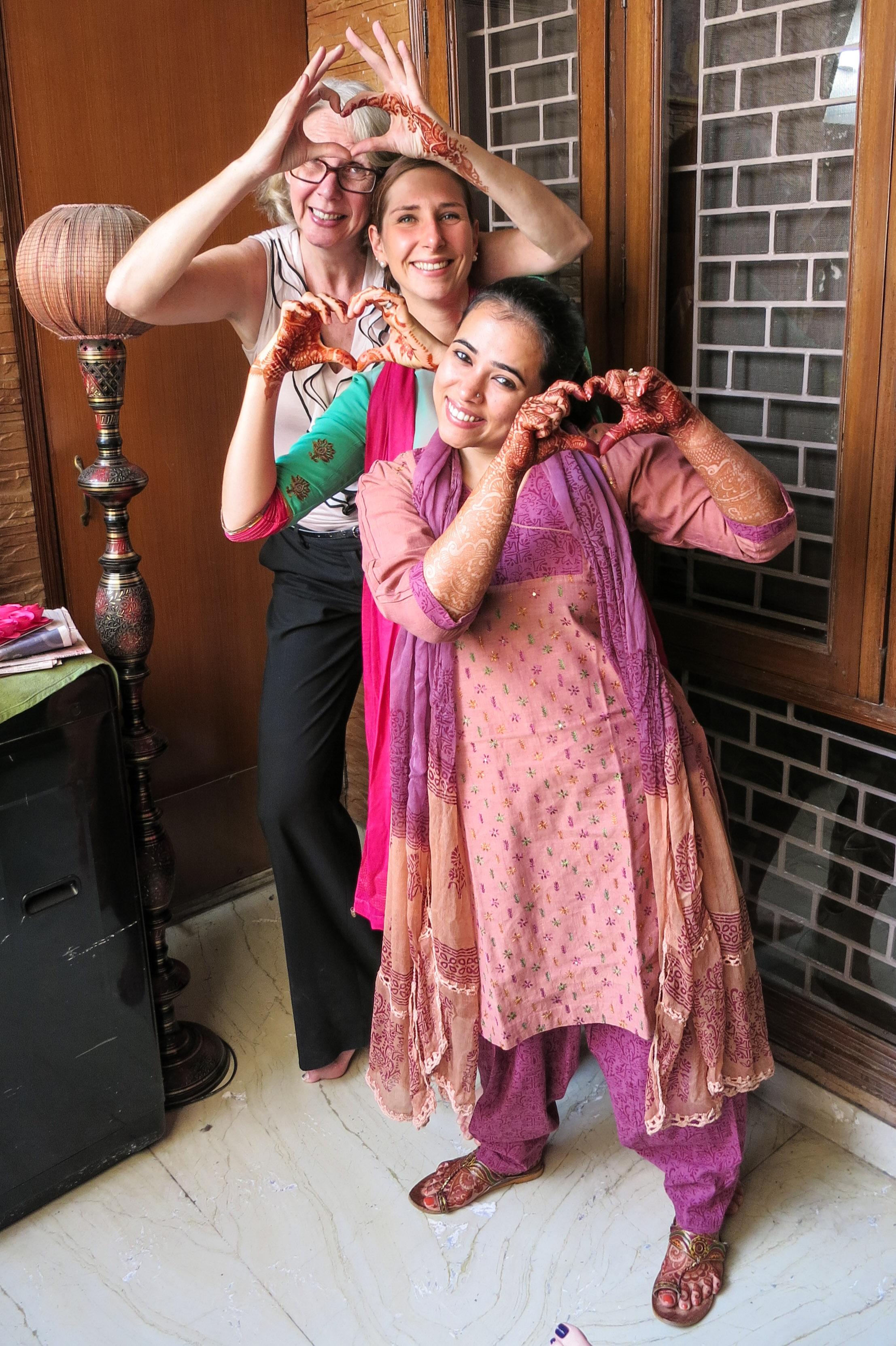 Chura Haldi And A Punjabi Style Reception Of Baraat Mimi And Chris